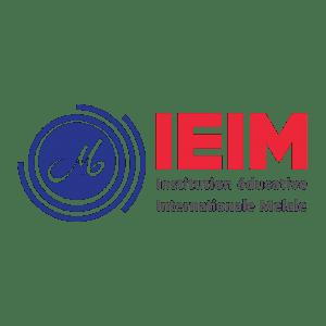 لوگوی مربعی مؤسسهی بینالمللی آموزشی ملل